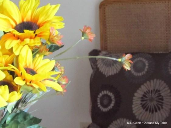 sunflower vignette