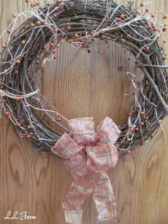 how to make a 5 minute wreath