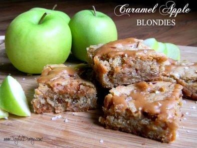 caramel-apple-blondies