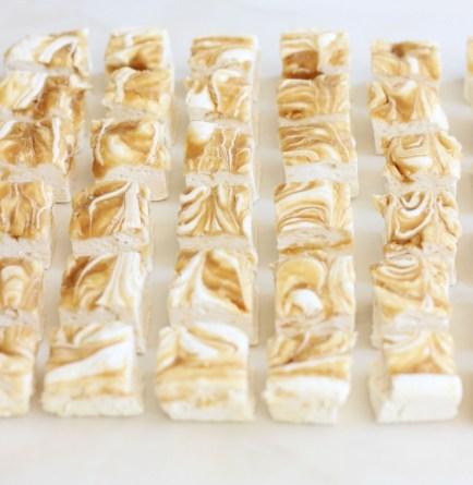 homemade caramel marshmallows