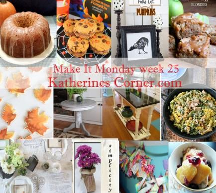 make it monday week twenty five
