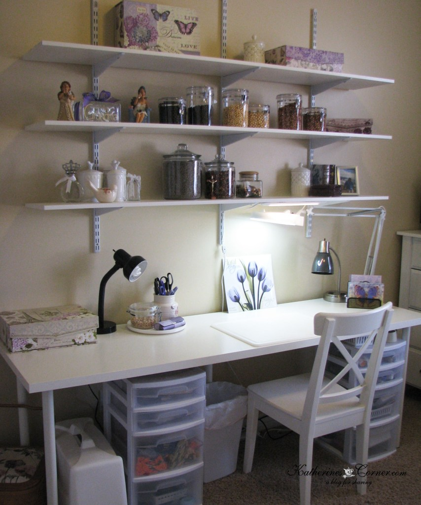 craft room transformation