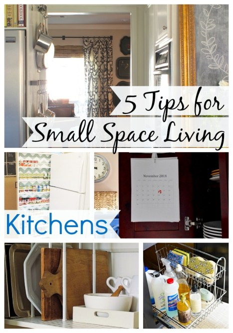5 tips for small space living
