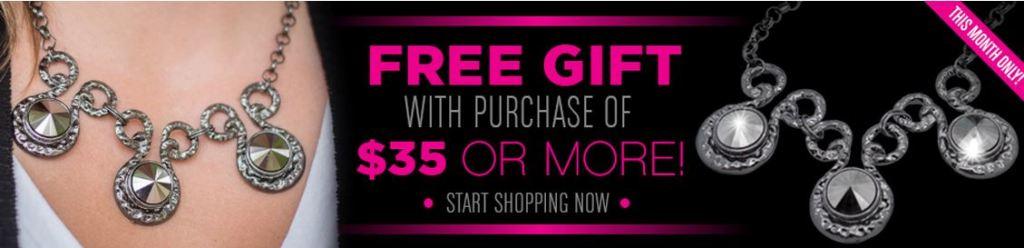 free jewelry in November