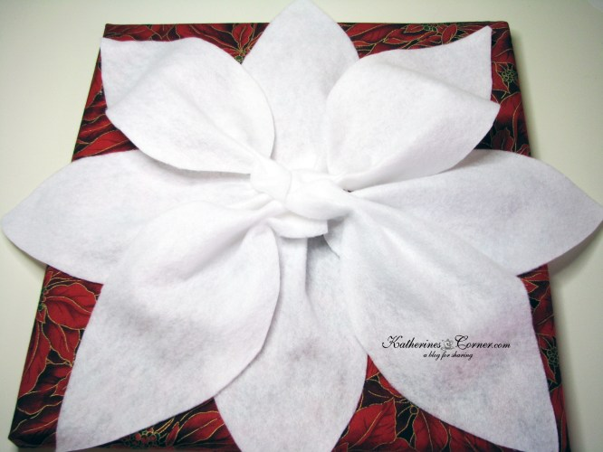 poinsettia craft 14