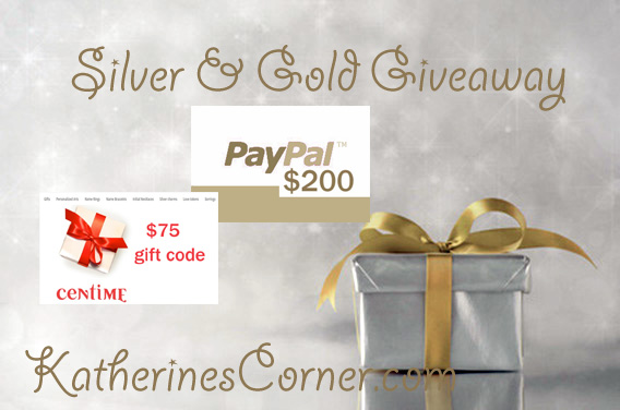 silver and gold giveaway