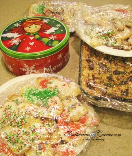christmas cookie day with Grandma
