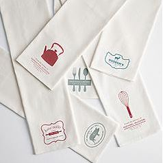 red envelope kitchen towels