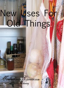 New Uses for Old Things