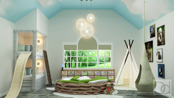 sensory kids room