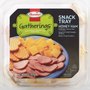 Hormel Gatherings snack tray