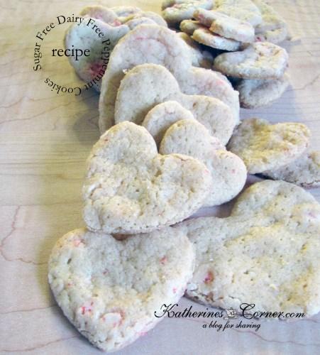 sugar free dairy free peppermint cookies