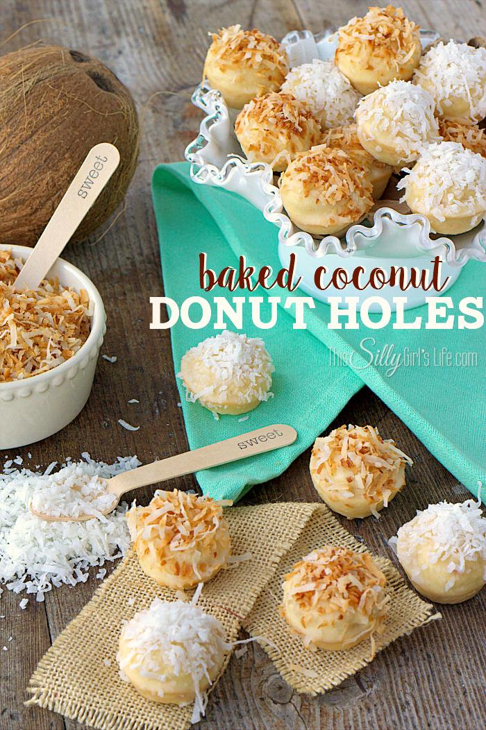 coconut donut holes