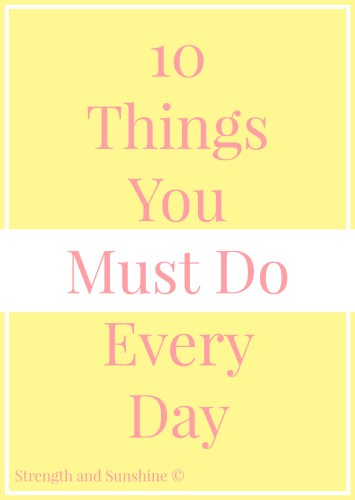10-Things-You-Must-Do-Every-Day
