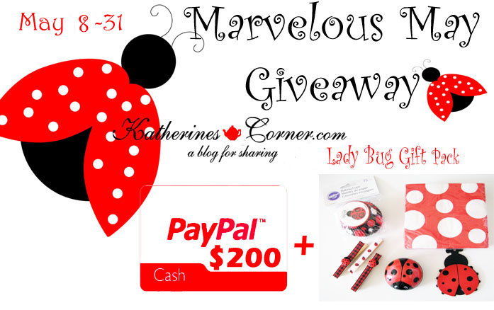 marvelous may giveaway