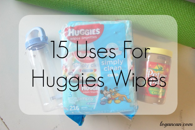 15 uses for huggies baby wipes