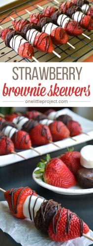 strawberry brownie skerwrs