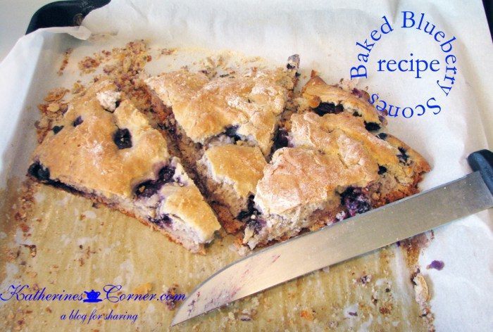 baked-blueberry-scones