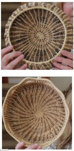diy pine needle baskets