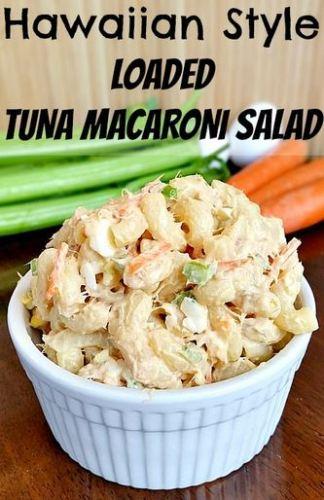 hawaiian style tuna salad
