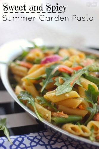sweet-and-spicy-summer-garden-vegetable-pasta