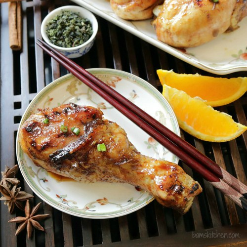 barbecue oolong tea chicken