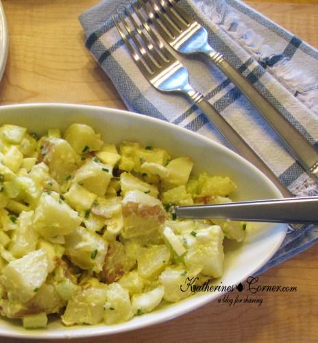 migraine safe recipe for potato salad