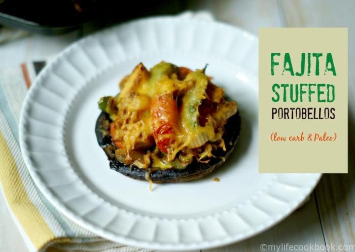 fajita stuffed mushrooms