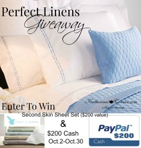 perfect linens giveaway