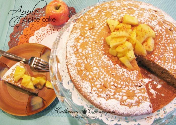 Apple spice cake migraine safe recipe