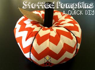 diy stuffed pumpkins
