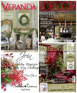 holiday magazine my way challenge