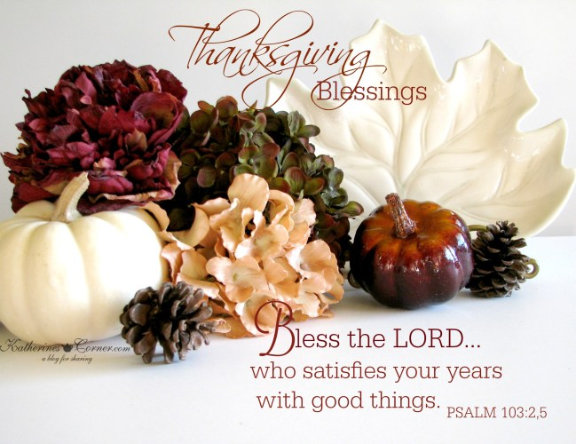 thanksgiving blessings from katherines corner