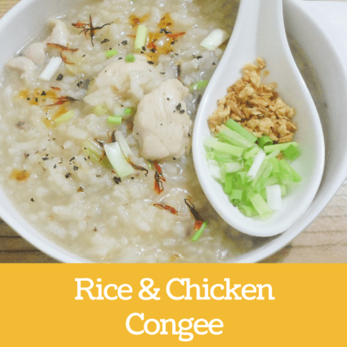 how to make brown rice congee in rice cooker
