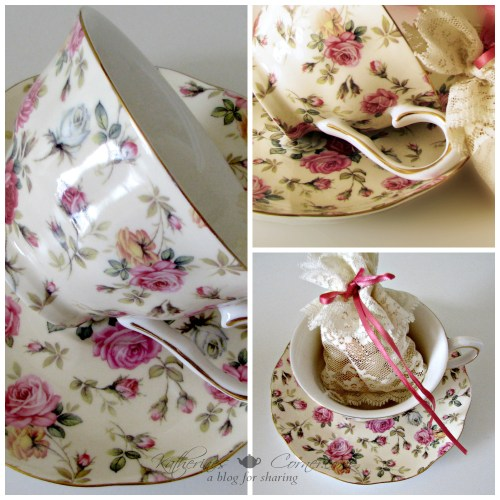 gracie China teacup