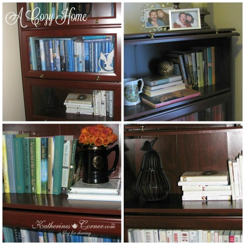 barrister bookcases mix old and new