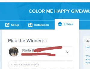 color me happy winner