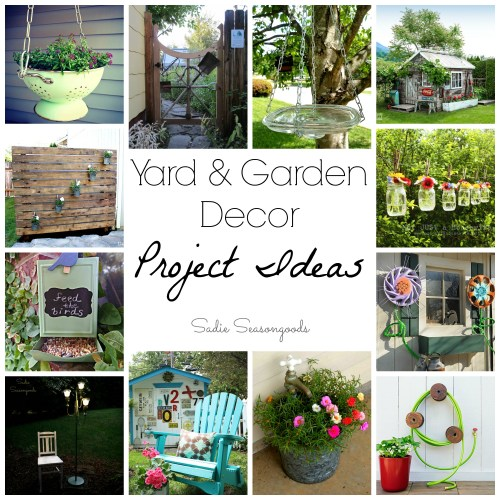 20 great garden decor projects