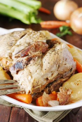 stove top pork roast recipe