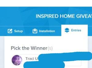 inspired home winner