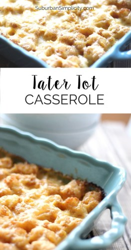 utah recipes tater tot casserole