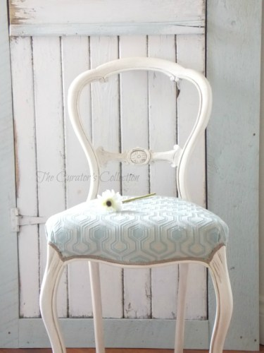 victorian chair make over