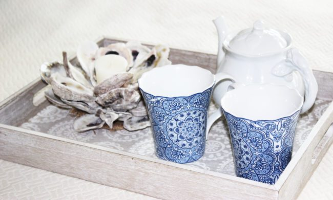 diy oyster shell mini candles