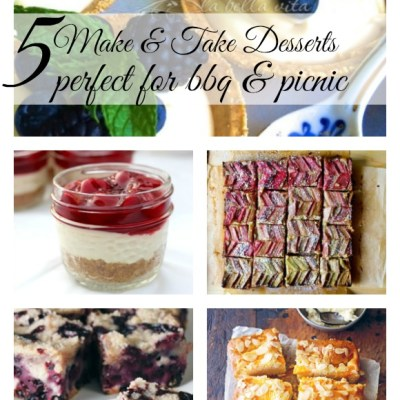 5 make take desserts