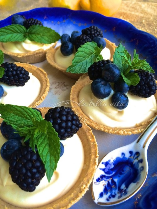 black berry desserts for picnic