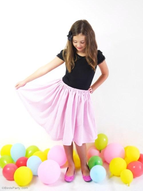 Thursday Favorite Things diy party skirt