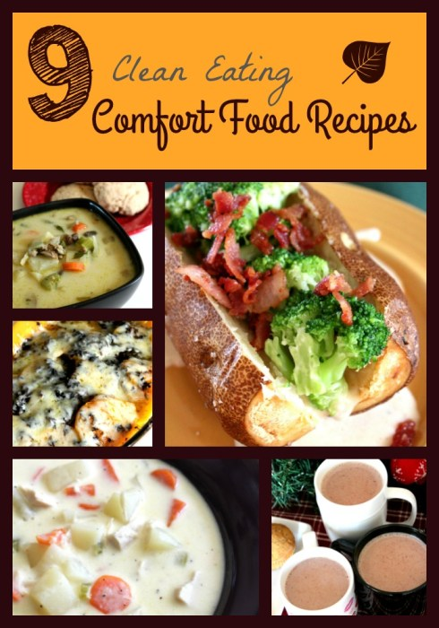 healthy comfort food recipes