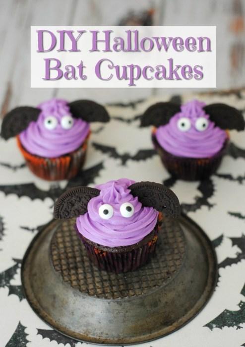 easy halloween bat cookies