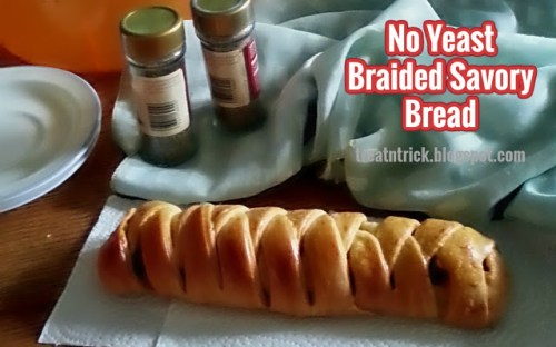no yeast braided bread