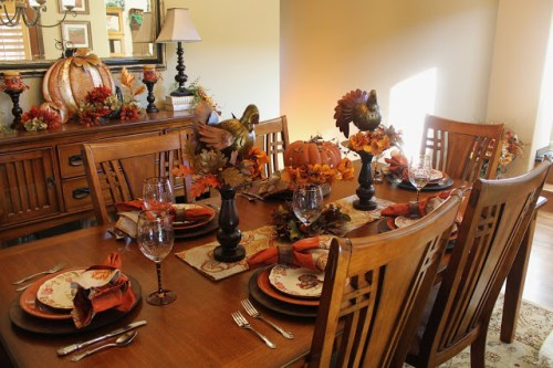 monday inspirations thanksgiving tablescape